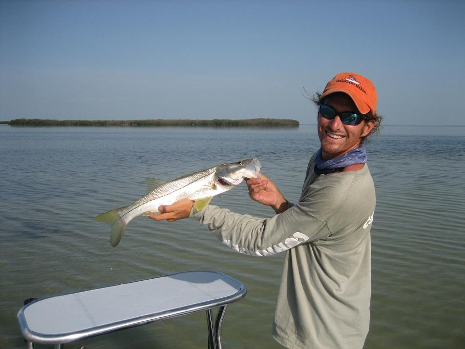 Snook capt bou charters a fishing guide for bonefish for Islamorada florida fishing
